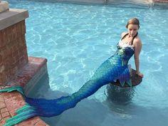 mermaiding