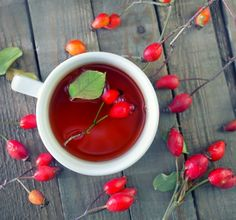 Rose hip tea from homegrown rose hips is excellent for your health and has more Vitamin C than oranges! Tips on growing, drying, and using them,