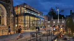 Duke University West Campus Union by Grimshaw
