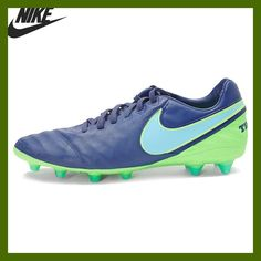Original NIKE TIEMPO LEGACY II AG-PRO Men's Football Shoes Soccer Shoes Sneakers