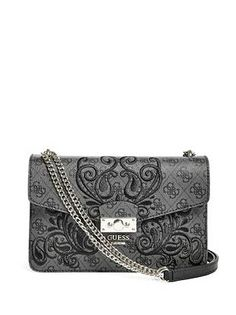 5c3ec062ba Guess Arianna Crossbody in Coal Sissi