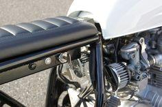 1976 Honda CB550 Cafe Racer by Ironwood Custom Motorcycles #caferacer #bratstyle