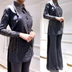 Muslim Fashion, Hijab Fashion, Prom Dresses Long With Sleeves, Hijab Dress, Daily Fashion, Style Fashion, Street Style, Style Inspiration, Coat