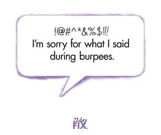 Love-Hate Relationship with Burpees....