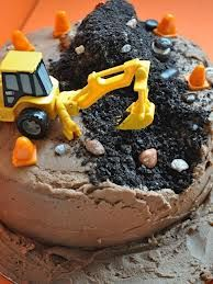 Easy Kid's Birthday Cake~PICTURE ONLY ~Ty really liked this one, lol