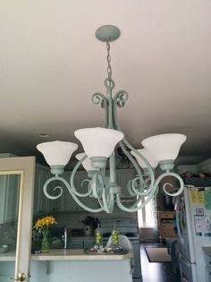 Chandelier redo diy projects for the home pinterest ceiling chandelier redo aloadofball