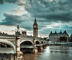 London, England (and Big Ben of course!)
