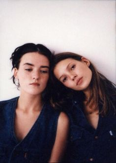 Fran Cutler and Kate Moss by Corinne Day | @andwhatelse