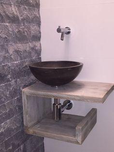 Small Vanity Sink, Bathroom Inspiration, Toilet, Home Decor, Decoration Home, Room Decor, Litter Box, Flush Toilet, Powder Room