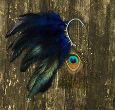 Feather Ear Cuff CUTE