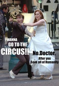 Basically the whole premise of Ten/Donna.