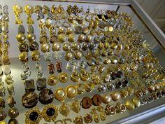 Lot 133 Pr Vtg High End Earrings DIOR-JEWELS by JULIO-PASTELLI-HASKELL-12KT GF #DiorPastelliHaskellJewelsbyJulioTrifari
