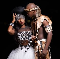 NEW ZULU SHWESHWE DRESSES are gaining more popularity, and it's not even taking a break as more and more stylish designs keep spring up every day. African Wedding Dress, African Print Dresses, African Print Fashion, Africa Fashion, African Weddings, Dress Attire, Men Dress, Zulu Traditional Wedding Dresses, Zulu Wedding