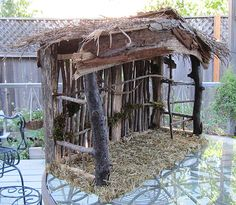 How-To Make a Nativity Stable