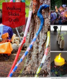 Camping Crafts and Games