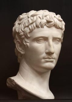 Agustus (b. 63 BC), emperor from 27 BC until his death in 14 AD