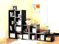 Room divider ideas ikea bedroom full size of wall shared small space living furniture cool expedit Ikea Room Divider, Desk Dividers, Panel Room Divider, Small Space Living, Small Spaces, Entertainment Center Kitchen, Studio Room, Ikea Bedroom, Cabinet Decor