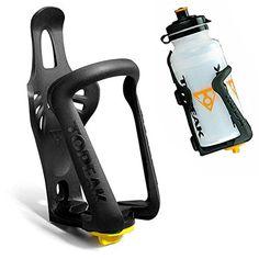 Bike Water Bottle Cages - Foxnovo Universal Adjustable Plastic Bicycle Bike Water Bottle Cage Holder Black >>> You can get additional details at the image link.