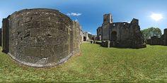Mur de l'abbaye de La Sauve-Majeure - France