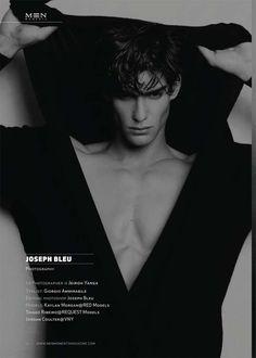 Thiago Ribeiro, Jordan Coulter and Kaylan Morgan for Men Moment Magazine via http://dailymalemodels.com