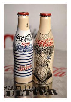 Jean Paul Gaultier collabore avec Coca-Cola Light : le lancement  niark have got it <3
