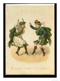 Auld Lang Syne is a poem written by Bobby Burns in the late 1700's that was put to music... I was always told it was about all the Scots who had to flee Scotland after the Jacobite uprisings...