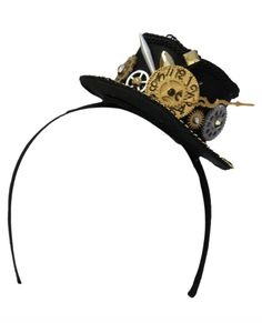 Mini Steampunk Hat Headband