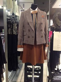 On The Mannequin In Topshop Bath Our Country Bumpkin Blazer Modern Times Blouse