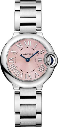 Ballon Bleu de Cartier watch 28 mm, Steel.