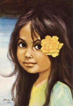 Artworks of Danuta Muszynska-Zamorska, Polish artist Bratislava, Sci Fi Music, Tarot, Jean Paul Ii, Polynesian Art, Portraits, Expositions, Chicano, Yellow Flowers