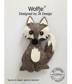 DIY wool package Wolfie