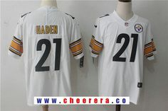 joe haden white steelers jersey