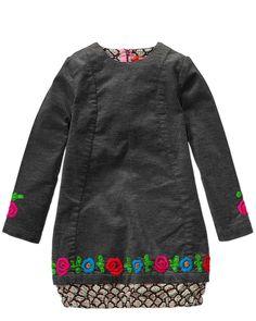oilily 'dalina' grey cord dress