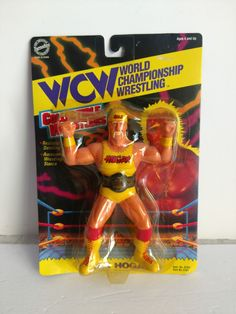 World Championship Wrestling, Wwf Superstars, Wrestling Superstars, Hulk Hogan, Toy 2, Awesome Food, Classic Toys, Old Toys, Wrestling