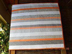 modern design cot quilt
