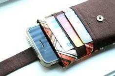 iPhone Brieftasche / iPhone Fall / iPhone Tasche / von chubbycloud