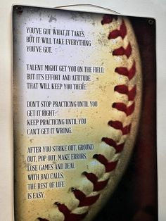 Bestseller / Wood Sign / Motivational Photo Gift / long by wide / Print adhered to wood / Ready to display / Makes a great gift Baseball Signs, Baseball Crafts, Baseball Boys, Baseball Display, Baseball Mom Quotes, Baseball Birthday, Baseball Stuff, Baseball Games, Baseball Canvas