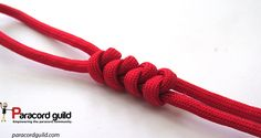 2 strand wall knot tutorial.