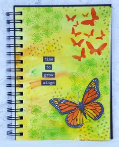Growing Wings by Fliss Goodwin | That's Blogging Crafty!- like the saying!