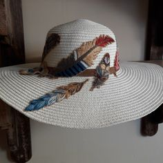 Cowboy Hats, Fashion, Embroidered Hats, Moda, La Mode, Fasion, Fashion Models, Trendy Fashion