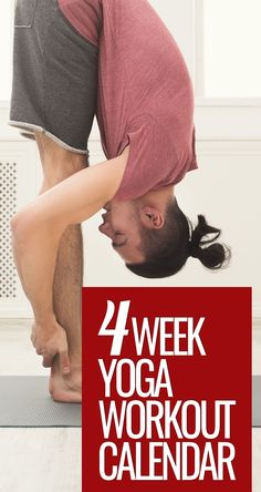Boost Your Home Yoga Practice With This 4-Week Yoga Workout Calendar (  free PDF) Workout Days, Workout Schedule, Exercise Recommendations, Home Yoga Practice, Yoga Courses, Workout Calendar, Yoga Day, Online Yoga, Daily Yoga