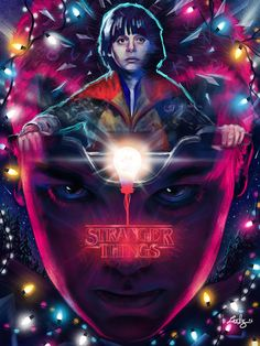 Stranger Things Poster - Created by Ladislas Chachignot
