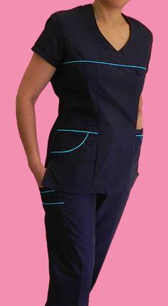 molde para hacer filipina quirúrgica - Buscar con Google Spa Uniform, Scrubs Uniform, Healthcare Uniforms, Medical Uniforms, Medical Scrubs, Nurse Scrubs, Scrubs Outfit, Lab Coats, Scrub Tops