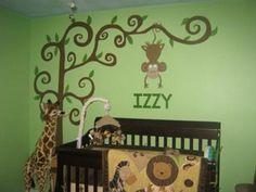 Monkey Safari Nursery