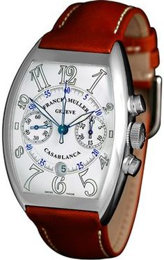 Franck Muller Casablanca Automatic Chronograph 8885 C CC DT Watch Companies, Watch Brands, Casablanca, Gadget Watches, Old Watches, Hand Watch, Telling Time, Luxury Watches For Men, Chronograph
