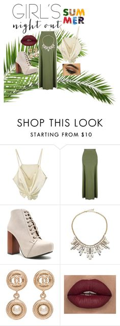 """Untitled #3"" by cb50964 ❤ liked on Polyvore featuring Topshop, Qupid, ABS by Allen Schwartz, Chanel and girlsnightout"