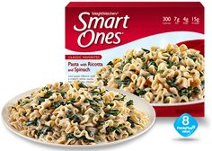 Weight Watchers® Smart Ones® Pasta with Ricotta and Spinach