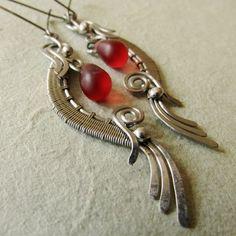 Earrings from the Carpathians