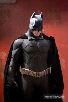 Batman Begins publicity still of Christian Bale Batman And Catwoman, Im Batman, Batman Arkham, Batman Robin, Dc Comics, Batman Comics, Batman Poster, Batman Comic Art, The Dark Knight Trilogy