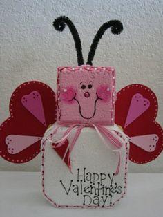 Valentine Luv Bug Patio Person by SunburstOutdoorDecor on Etsy, $18.00